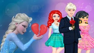 Jack Frost Leaving Princess Elsa for Other Girls - Disney Princess Elsa and Jack Games
