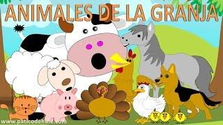 Animales de la granja para niños - sonidos de animales para niños