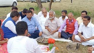 भूमि पूजन समारोह जय श्री केशव रामलीला कमेटी (Rohini Sec 10)
