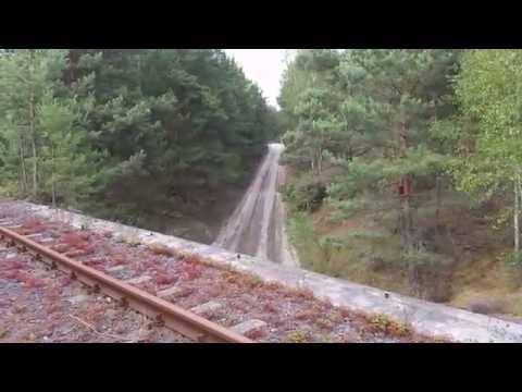 Wiadukt kolejowy z 3 odcinka serialu Czterej pancerni i pies