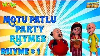 Party Rhymes 01 - Motu Patlu Rhymes - Available Worldwide!