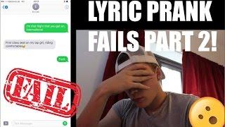 Lyric Prank FAILS Compilation #2 - Mike Fox