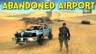 ABANDONED AIRPORT! - Mad Max