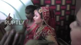 India: Busted, Bollywood style! Estranged wife beats hubby at his 2nd wedding to younger woman