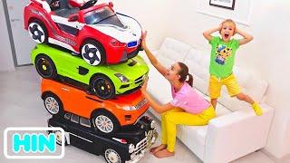 व्लाद और निकिता   कार्स फॉर किड्स के बारे में मजेदार कहानियां