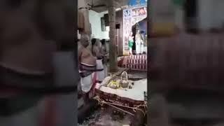 Andal rangamannar Thirumanjana sevai