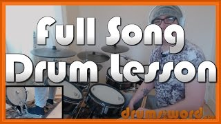 ★ I Love Rock N' Roll (Joan Jett) ★ Drum Lesson PREVIEW | How To Play Song (Lee Crystal)