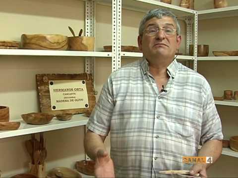 PARTE 2 Fabricación Productos Artesanos Madera Olivo