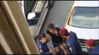 اعتقال مواطن في شهر الصيام وتكبيله بالقيود - بلدة المصلى 6/7/2015 Bahrain