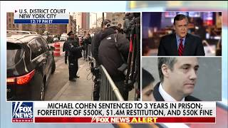 Turley Says Cohen Received Lenient Sentence: