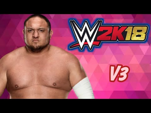WR3D WWE 2K18 MOD V3 BY HASSI CH