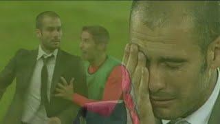 ¿Por qué lloró Pep Guardiola? Josep Guardiola plora al guanyar-ho tot. Desembre 2009