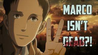 Marco Isn't Dead?! (Attack On Titan) | Mind Blown