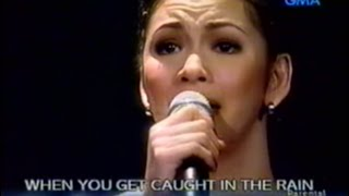 [HQ] Through The Rain - Regine Velasquez (January 2003)