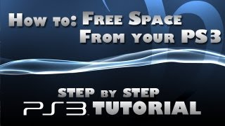 How to make more space on your ps3 without losing game saves