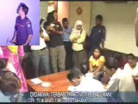 Massage Parlour Raid at Puchong 28 Jun 07