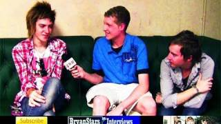 A Rocket To The Moon Interview Nick Santino & Justin Richards 2009