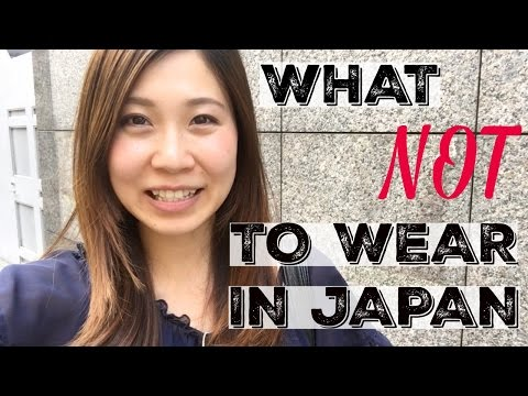 Xxx Mp4 What Not To Wear In Japan Clothes To Avoid Wearing In Japan 訪日外国人に服装についてのアドバイス 3gp Sex