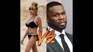 "50 Cent Roasts Wendy Williams, ""You Ugly MotherF**ker"",""Your Husband Needs a Sidechick"""