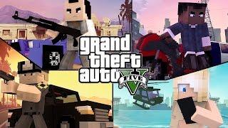Mapas Increibles Para Descargar #11 La Ciudad De Los Santos, GTA V En Minecraft