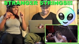 Couple Reacts : Stranger Strings with the Kids of Stranger Things Reaction!!