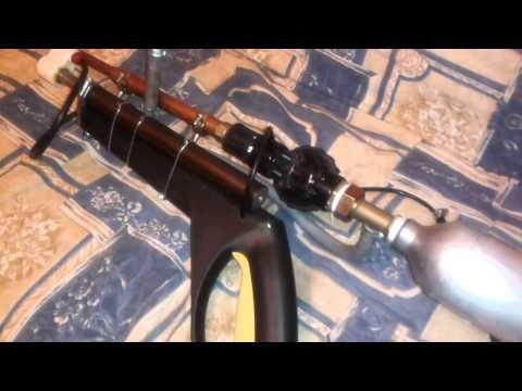 31 Homemade Airgun Rifle casero de aire comprimido