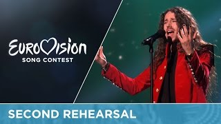 Michał Szpak - Color Of Your Life (Poland) Second Rehearsal