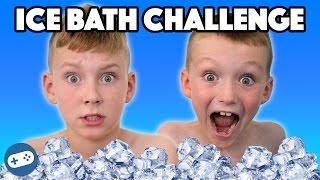 ICE BATH CHALLENGE KIDS!