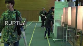 Japan: Voters head to polls in snap election