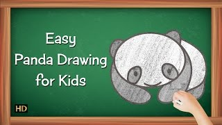 Easy Panda Drawing for Kids | Kids Learning Video | Shemaroo Kids