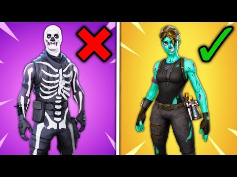 Top 10 Rare Fortnite Skins THAT ARE OVERRATED