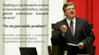 Bronisław Komorowski przemawia głosem Generała