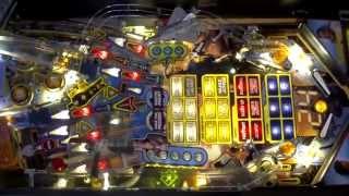 Stern 24 pinball gameplay - Master Agent - full screen/rotated