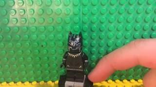 Custom Lego Black Panther Tutorial
