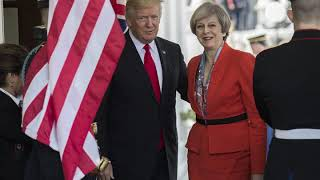 Theresa May has more to say about Big Ben than Trump's Charlottesville comments