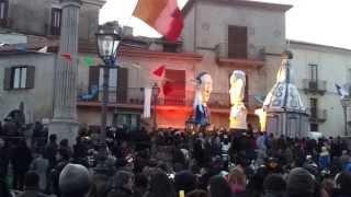 carnevale2014papa francesco incontra putin squillace(cz) (HD)