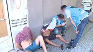 Detienen a narcos en el barrio de Flores