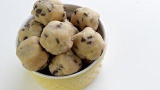 How To Make Cookie Dough Bites | No Bake Recipe | Simply Bakings