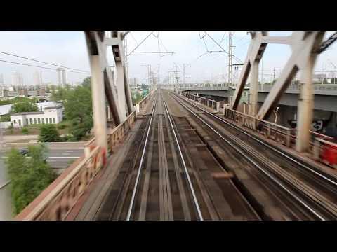 Retro Steam Train in Kiev