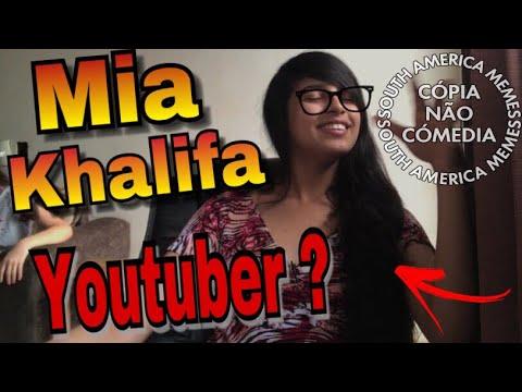 Xxx Mp4 VIREI MEME NO SAM Mia Khalifa Decide Virar Youtuber 3gp Sex
