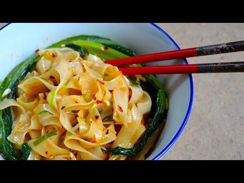 Hot Oil Noodles | DUMPLING SISTERS