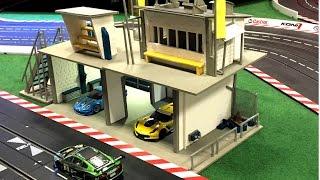 Carrera Digital 124 / 132 Gebäude selber bauen basteln