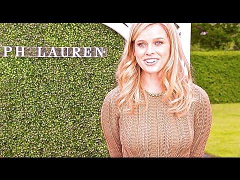 Alice Eve Hot INTERVIEW Vogue Sexy Ralph Lauren Summer Party Hot Wimbledon 2015 CARJAM TV