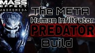 Mass Effect Andromeda The Meta Human Infiltrator Predator Build