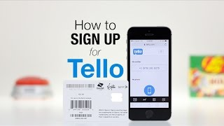 How to Sign Up for Tello! | March 2017