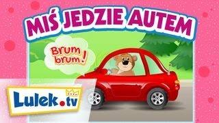 Jedzie, jedzie miś I Piosenki dla dzieci I Lulek.tv.