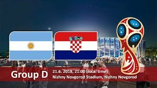 Argentina v. Croatia (The EPIC BATTLE for Group D)