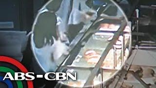TV Patrol: : Pananalisi sa balikbayan sa loob ng isang mall, sapul sa CCTV