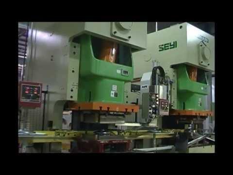Nine Press Walking Beam Transfer Line Defines Flexibility at Great Lakes Metal Stamping
