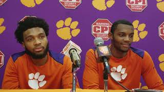 DeVoe and Simms post Notre Dame